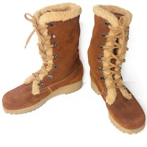 Vintage Made in Romania Winter Boots Size 8.5 US